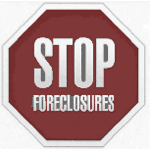 STOP Foreclosures sign